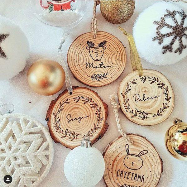 rodaja árbol de navidad